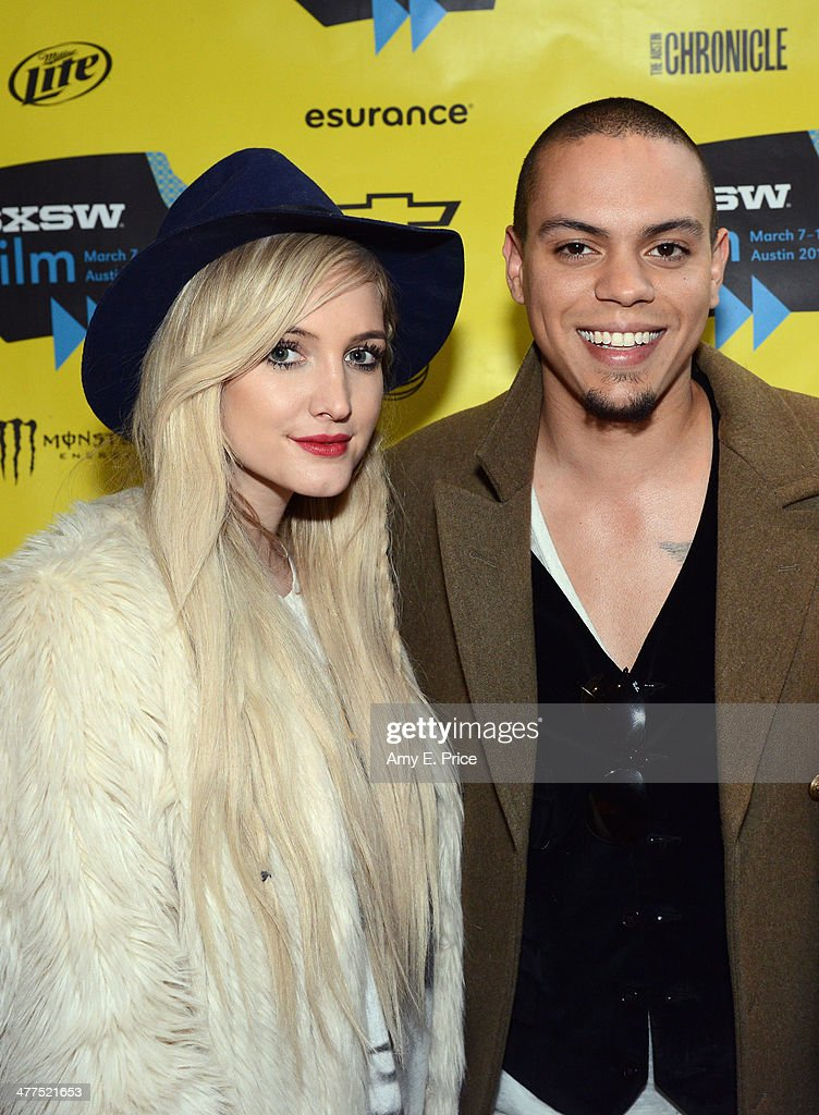 Singer/actress Ashlee Simpson (L) and actor Evan Ross attend 'The Wilderness of James' Photo Op and Q&A during the 2014 SXSW Music, Film + Interactive Festival at AMC Theater at VCC on March 9, 2014 in Austin, Texas.