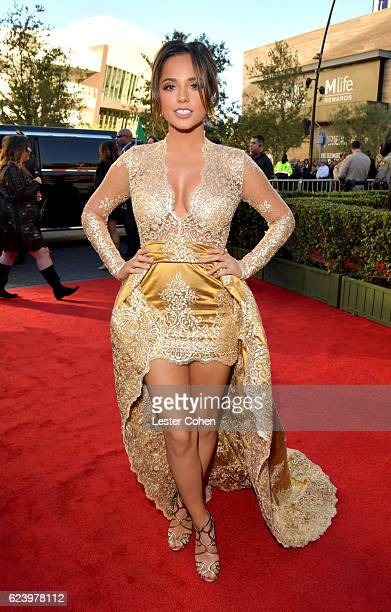 Singer/actress Becky G attends The 17th Annual Latin Grammy Awards at TMobile Arena on November 17 2016 in Las Vegas Nevada
