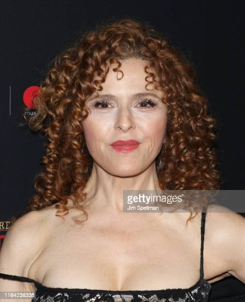 Singer/actress Bernadette Peters attends the Moulin Rouge The Musical opening night at Al Hirschfeld Theatre on July 25 2019 in New York City