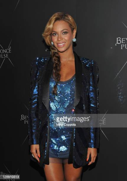 Singer/actress Beyonce Knowles attends the Beyonce Pulse fragrance launch at Penthouse at Dream Downtown on September 21 2011 in New York City