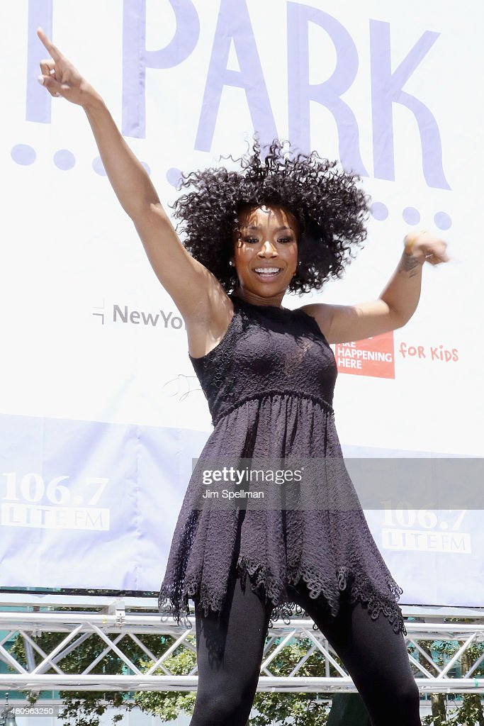 """106.7 LITE FM's Broadway In Bryant Park - July, 16th 2015"
