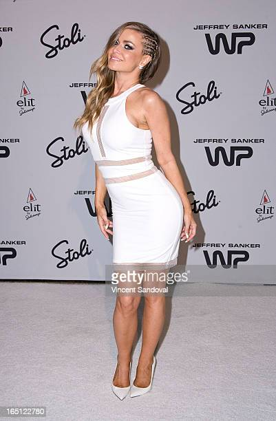 Singer/actress Carmen Electra attends The White Party during Jeffrey Sanker Presents White Party Palm Springs 2013 Day 2 at the Convention Center on...