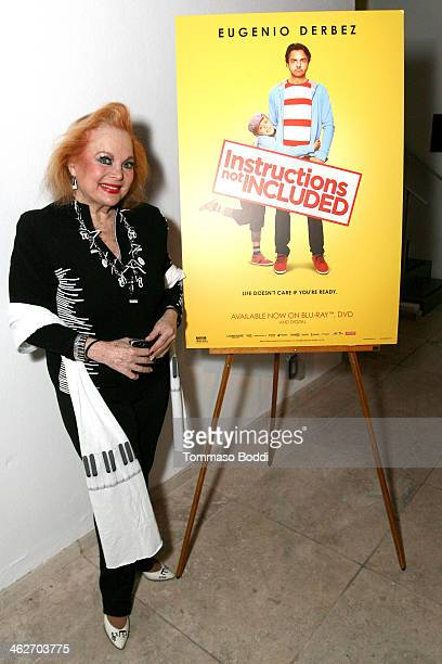 Singer/actress Carol Connors attends the Instructions Not Included screening and reception on January 14 2014 in Los Angeles California