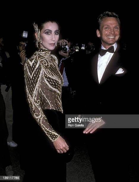 Singer/Actress Cher and fashion designer Bob Mackie attend The Metropolitan Museum's Costume Institute Gala Exhibition of Costumes of Royal India on...