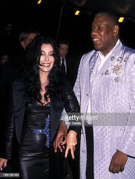 Singer/Actress Cher and fashion editor Andre Leon Tally attend The Metropolitan Museum's Costume Institute Gala Mongraphic Exhibition 'Gianni...