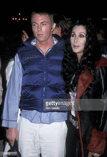 Singer/Actress Cher and son Elijah Blue Allman attend the Blow Westwood Premiere on March 29 2001 at Mann's Chinese Theatre in Westwood California