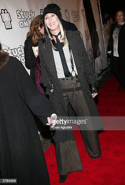 Singer/actress Cher arrives at the 20th Century Fox film premiere of 'Stuck On You' December 8 2003 in New York City