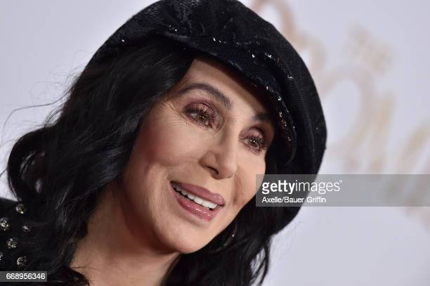 Singer/actress Cher arrives at the Premiere of Open Road Films' 'The Promise' at TCL Chinese Theatre on April 12 2017 in Hollywood California