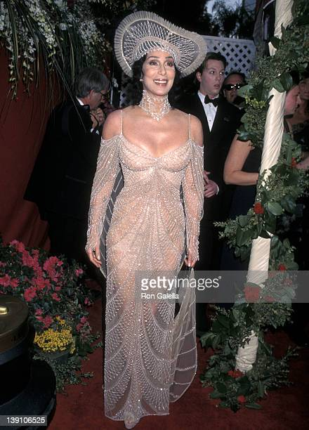 Singer/Actress Cher attends the 70th Annual Academy Awards on March 23 1998 at Shrine Auditorium in Los Angeles California
