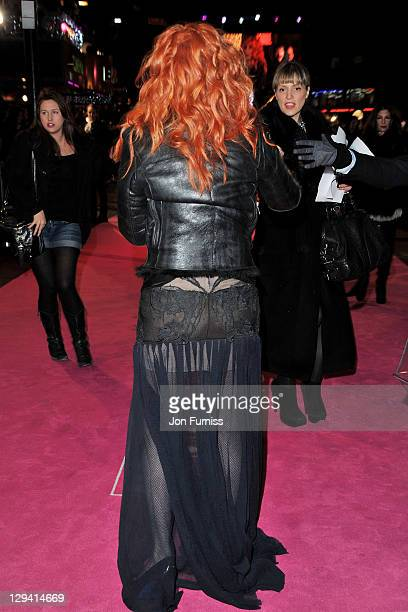 Singer/actress Cher attends the Burlesque UK premiere at the Empire Leicester Square on December 13 2010 in London England