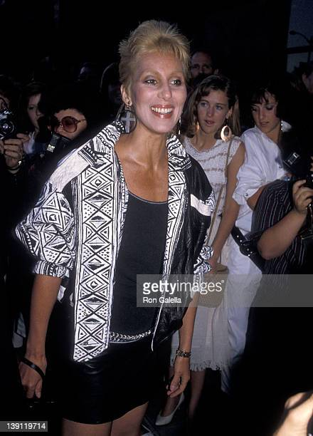 Singer/actress Cher attends the Grandview USA Beverly Hills Premiere on July 23 1984 at Academy Theatre in Beverly Hills California