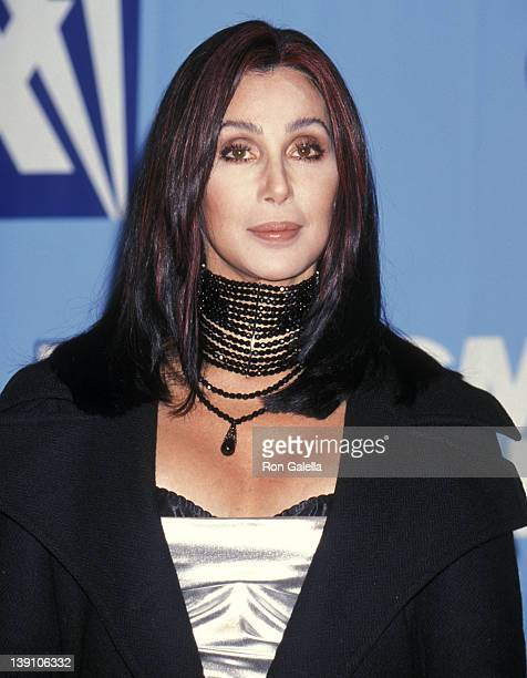 Singer/Actress Cher attends the Ninth Annual Billboard Music Awards on December 7 1998 at MGM Grand Garden Arena in Las Vegas Nevada