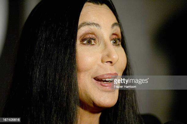 Singer/actress Cher presenting 'Moonstruck' at Target Presents AFI's Night at the Movies at ArcLight Cinemas on April 24 2013 in Hollywood California