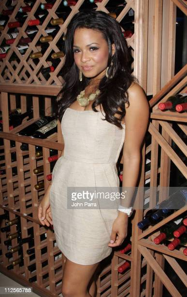 Singer/actress Christina Milian arrives at Cielo Garden and Supperclub to host their one year anniversary party on January 24, 2008 in Coconut Grove,...