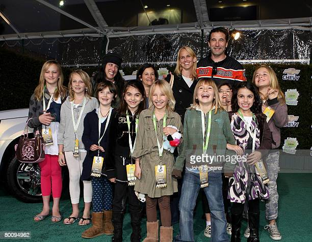 Singer/actress Chynna Phillips actor Billy Baldwin and guests arrive at Chevy Rocks The Future at the Buena Vista Lot at The Walt Disney Studios on...