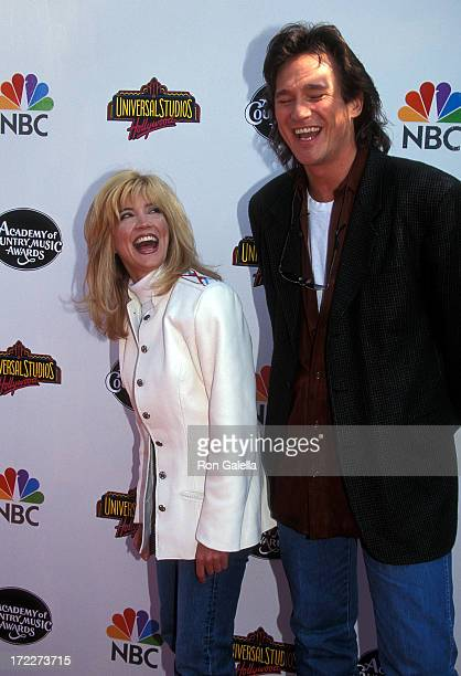 Singer/Actress Crystal Bernard and singer Billy Dean attend the 31st Annual Academy of Country Music Awards on April 24, 1996 at the Universal...