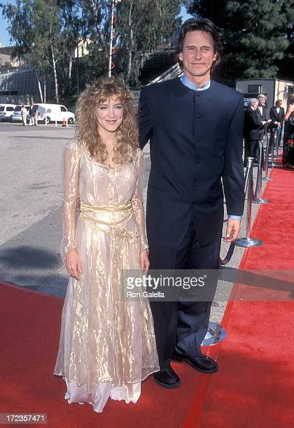 Singer/Actress Crystal Bernard and singer Billy Dean attend the 34th Annual Academy of Country Music Awards on May 5 1999 at Universal Amphitheatre...