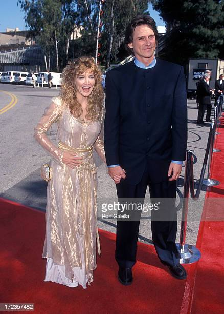 Singer/Actress Crystal Bernard and singer Billy Dean attend the 34th Annual Academy of Country Music Awards on May 5, 1999 at Universal Amphitheatre...