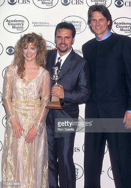 Singer/Actress Crystal Bernard, singer Mark Wills and singer Billy Dean attend the 34th Annual Academy of Country Music Awards on May 5, 1999 at...