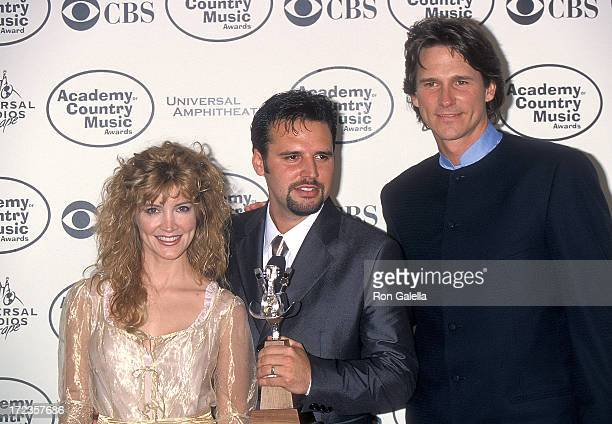 Singer/Actress Crystal Bernard singer Mark Wills and singer Billy Dean attend the 34th Annual Academy of Country Music Awards on May 5 1999 at...