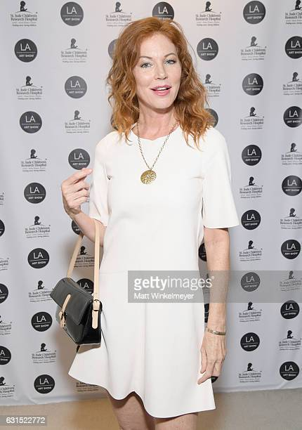Singer/actress Cynthia Basinet attends LA Art Show 2017 at Los Angeles Convention Center on January 11 2017 in Los Angeles California