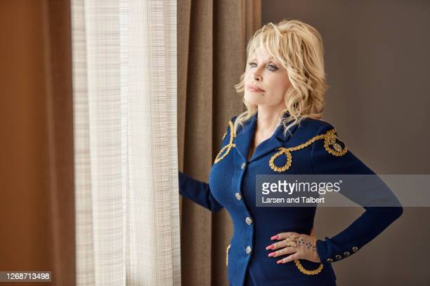 Singer/actress Dolly Parton is photographed for Guidepost Magazine on March 12 2020 at Dollywood's DreamMore Resort in Pigeon Forge Tennessee...