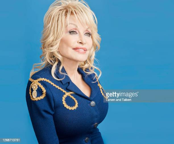 Singer/actress Dolly Parton is photographed for Guidepost Magazine on March 12, 2020 at Dollywood's DreamMore Resort in Pigeon Forge, Tennessee....
