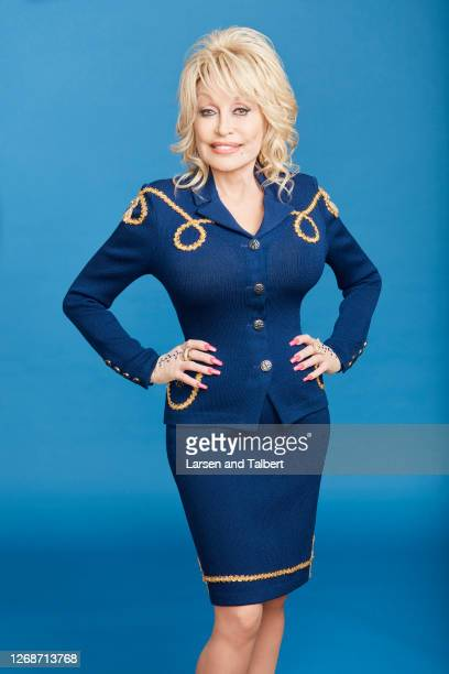 Singer/actress Dolly Parton is photographed for Guidepost Magazine on March 12 2020 at Dollywood's DreamMore Resort in Pigeon Forge Tennessee COVER...