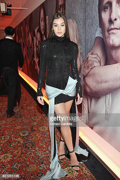 Singer/actress Hailee Steinfeld attends W Magazine Celebrates the Best Performances Portfolio and the Golden Globes with Audi and Moet Chandon at...