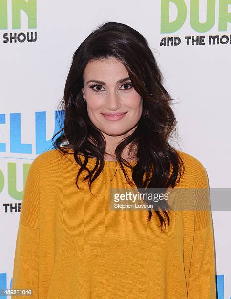 Singer/actress Idina Menzel attends 'The Elvis Duran Z100 Morning Show' at Z100 Studio on December 1 2014 in New York City