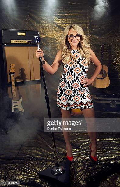 Singer/actress Jamie Lynn Spears poses for a portrait at the Academy of Country Music Awards for People Magazine on April 6 2014 in Las Vegas Nevada