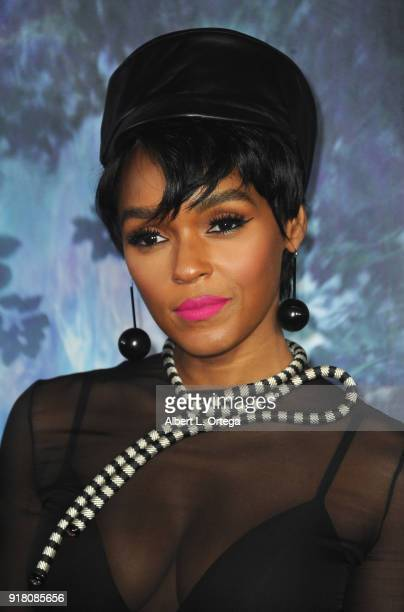 Singer/actress Janelle Monae arrives for the Premiere Of Paramount Pictures' 'Annihilation' held at Regency Village Theatre on February 13 2018 in...