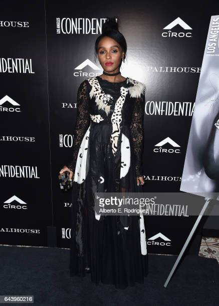 Singer/actress Janelle Monae attends Los Angeles Confidential Magazine and CIROC UltraPremium Vodka celebrate the Spring Oscars issue with Janelle...