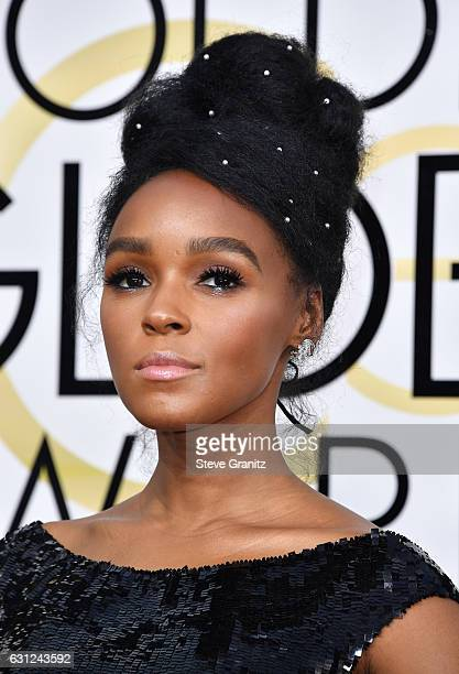 Singer/actress Janelle Monae attends the 74th Annual Golden Globe Awards at The Beverly Hilton Hotel on January 8, 2017 in Beverly Hills, California.