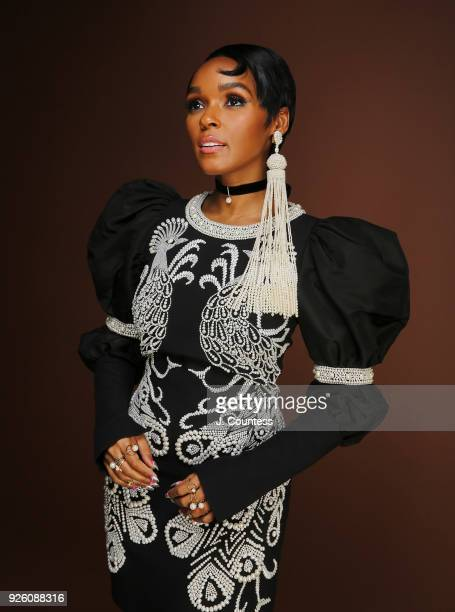 Singer/actress Janelle Monae poses for a portrait at the Beverly Wilshire Four Seasons Hotel on March 1 2018 in Beverly Hills California
