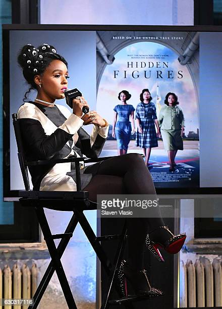 Singer/actress Janelle Monae visits AOL BUILD to discuss the film Hidden Figures at AOL HQ on December 20 2016 in New York City
