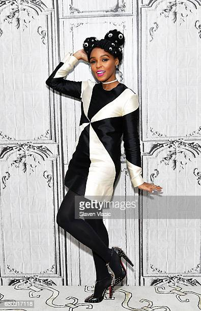 Singer/actress Janelle Monae visits AOL BUILD to discuss the film 'Hidden Figures' at AOL HQ on December 20 2016 in New York City