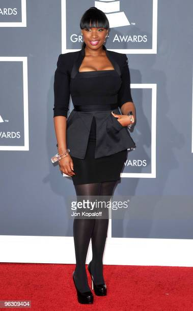 Singer/actress Jennifer Hudson arrives at the 52nd Annual GRAMMY Awards held at Staples Center on January 31 2010 in Los Angeles California