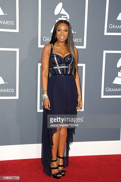 Singer/actress Jennifer Hudson arrives at The 53rd Annual GRAMMY Awards held at Staples Center on February 13 2011 in Los Angeles California