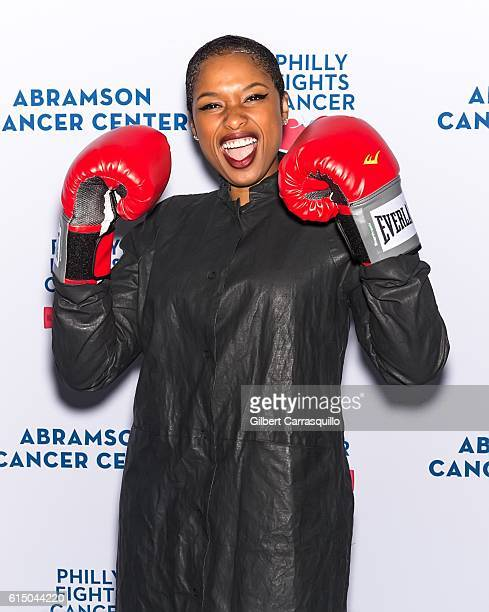 Singer/actress Jennifer Hudson attends Philly Fights Cancer Round 2 at Legacy Youth Tennis Organization on October 15 2016 in Philadelphia...