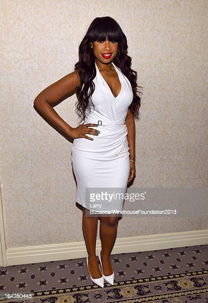Singer/actress Jennifer Hudson attends the 2013 Amy Winehouse Foundation Inspiration Awards and Gala at The Waldorf=Astoria on March 21 2013 in New...