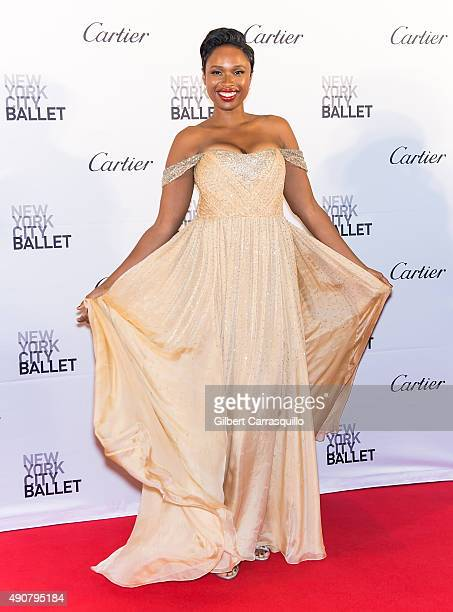 Singer/actress Jennifer Hudson attends the 2015 New York City Ballet Fall Gala at David H Koch Theater at Lincoln Center on September 30 2015 in New...