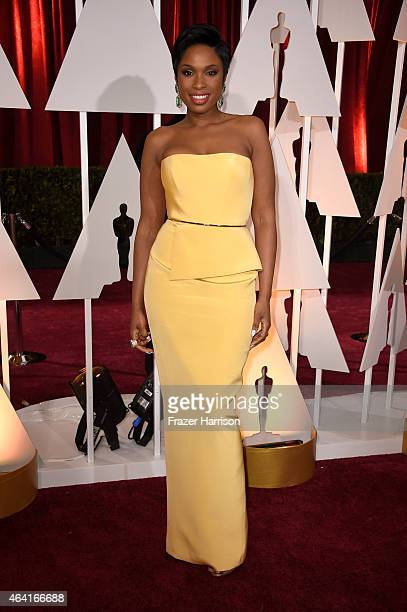 Singer/actress Jennifer Hudson attends the 87th Annual Academy Awards at Hollywood Highland Center on February 22 2015 in Hollywood California