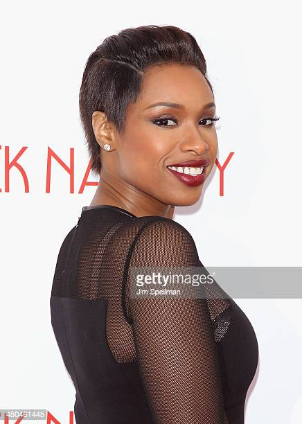 Singer/actress Jennifer Hudson attends the Black Nativity premiere at The Apollo Theater on November 18 2013 in New York City