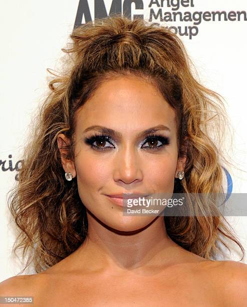 Singer/actress Jennifer Lopez arrives at a post concert party at the Pure Nightclub at Caesars Palace early August 19 2012 in Las Vegas Nevada