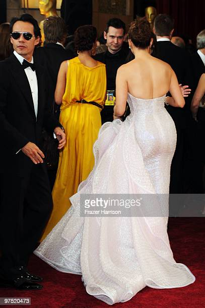 Singer/Actress Jennifer Lopez arrives at the 82nd Annual Academy Awards held at Kodak Theatre on March 7 2010 in Hollywood California