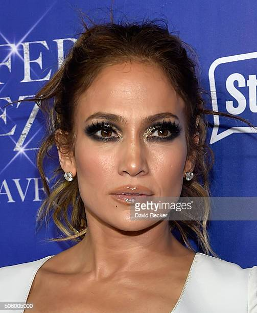 Singer/actress Jennifer Lopez arrives at the after party for her residency JENNIFER LOPEZ ALL I HAVE and the grand opening of Mr Chow at Caesars...
