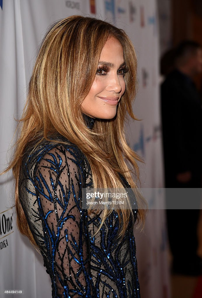 Singer/actress Jennifer Lopez attends the 25th Annual GLAAD Media Awards at The Beverly Hilton Hotel on April 12, 2014 in Los Angeles, California.