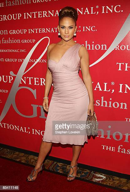 Singer/actress Jennifer Lopez attends the 25th annual Night of Stars hosted by Fashion Group International at Cipriani Wall Street on October 23,...