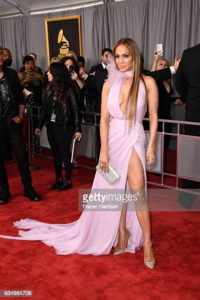 Singer/Actress Jennifer Lopez attends The 59th GRAMMY Awards at STAPLES Center on February 12 2017 in Los Angeles California